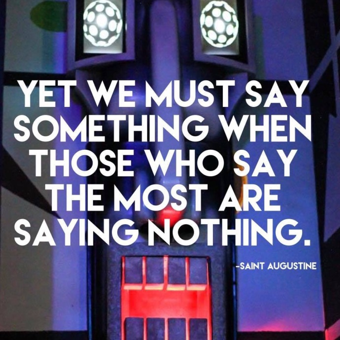 Inspirational Quote by Saint Augustine
