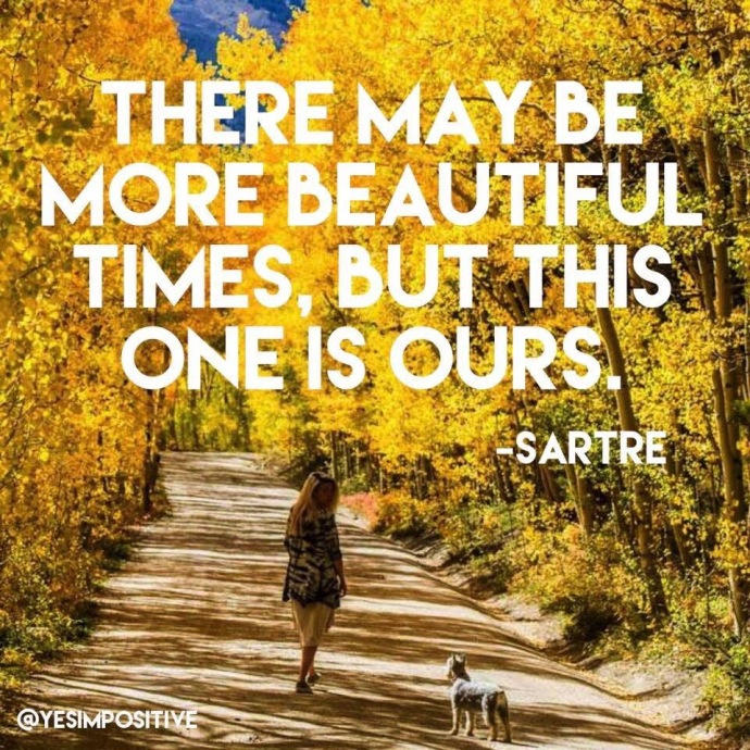 Jean-Paul Sartre Inspirational Quote