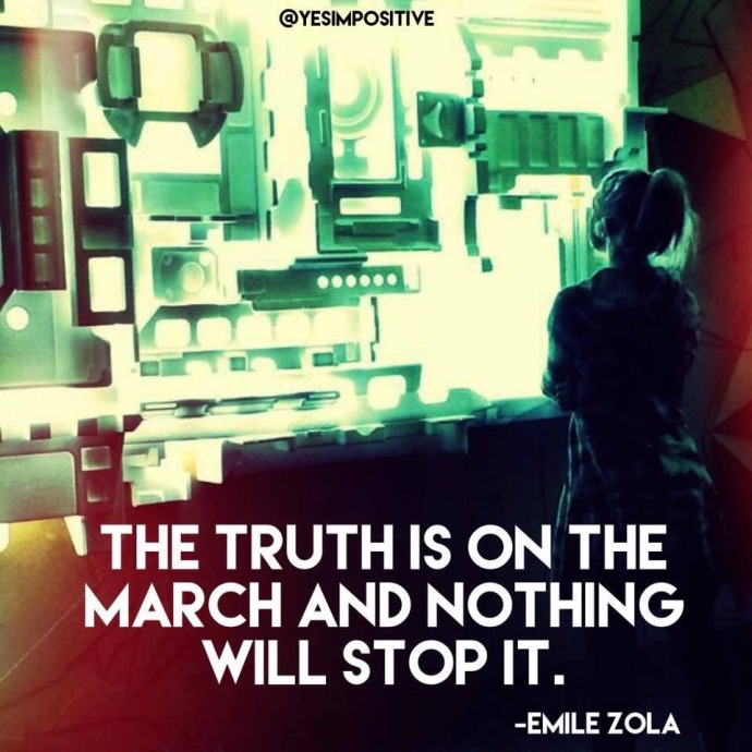 Emile Zola Inspirational Quote