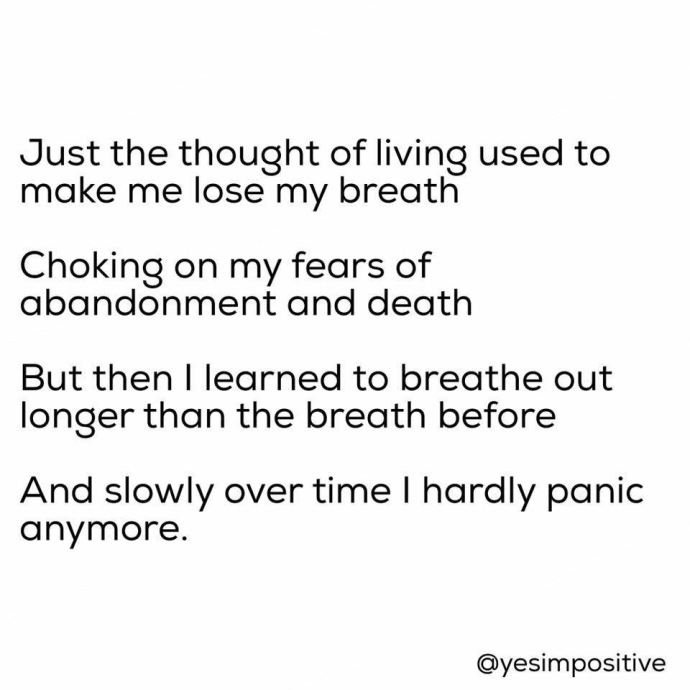 Panic Attack poem
