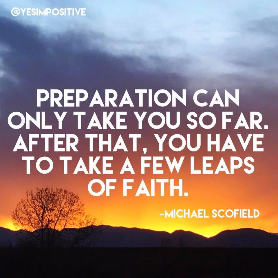 Michael Scofield On Taking A Leap Of Faith Yes Im Positive