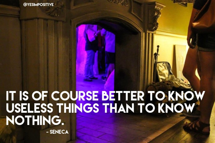 Seneca quote on knowledge